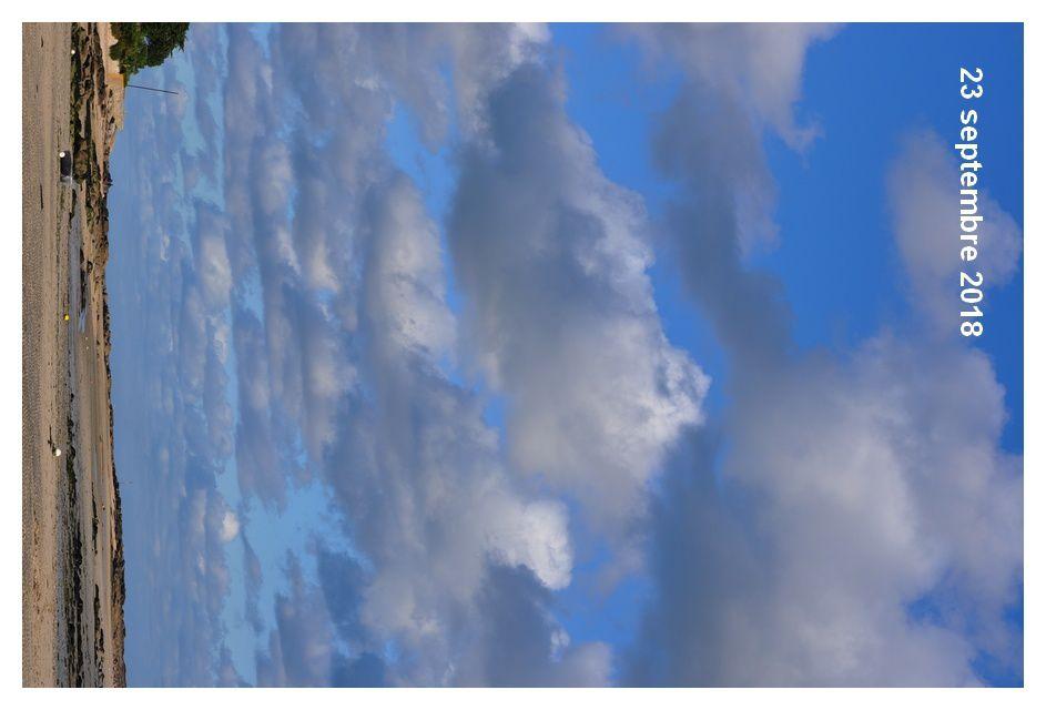 Septembre, Val de Saire : la couleur du ciel