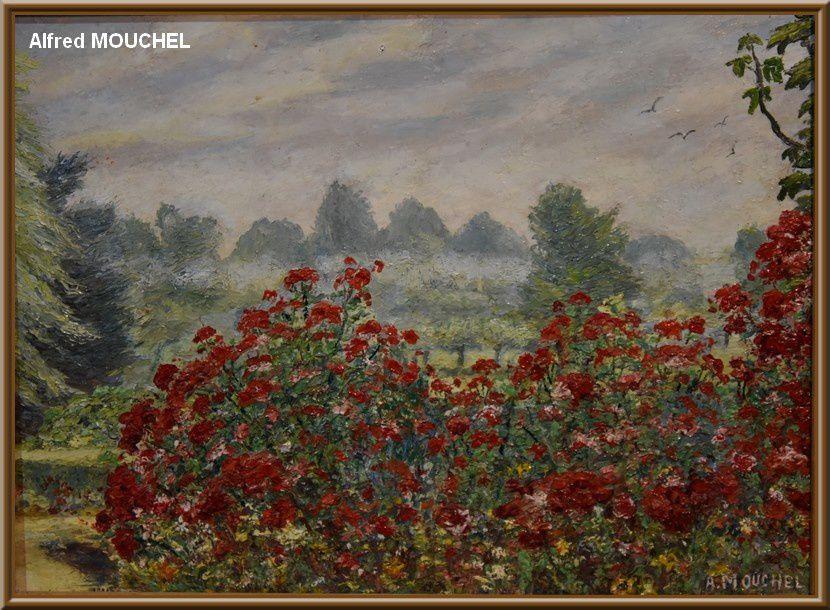 Quettehou Regards d'artistes hommage à Alfred MOUCHEL