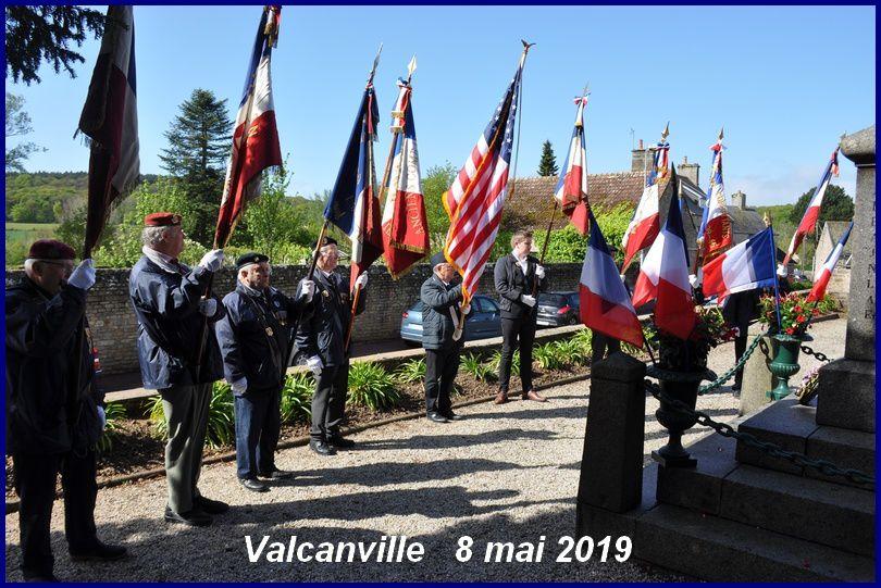Valcanville commémoration du 8 mai 1945