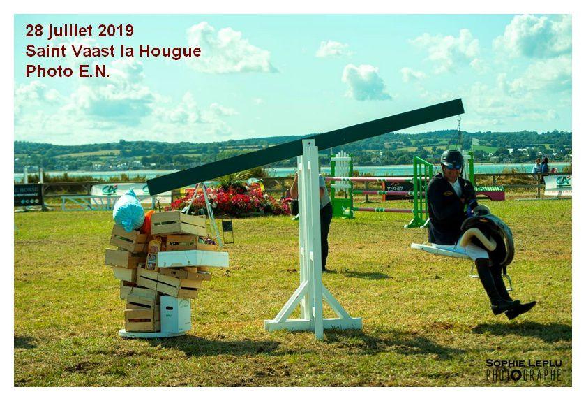 Saint Vaast la Hougue : concours hippique