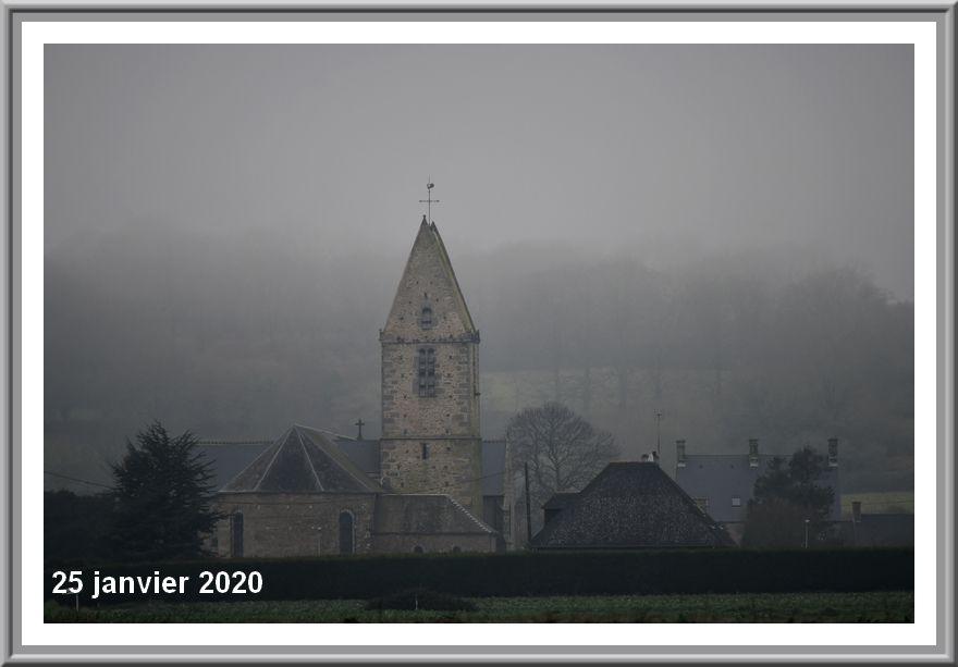 Val de saire, janvier 2020 : la couleur du temps