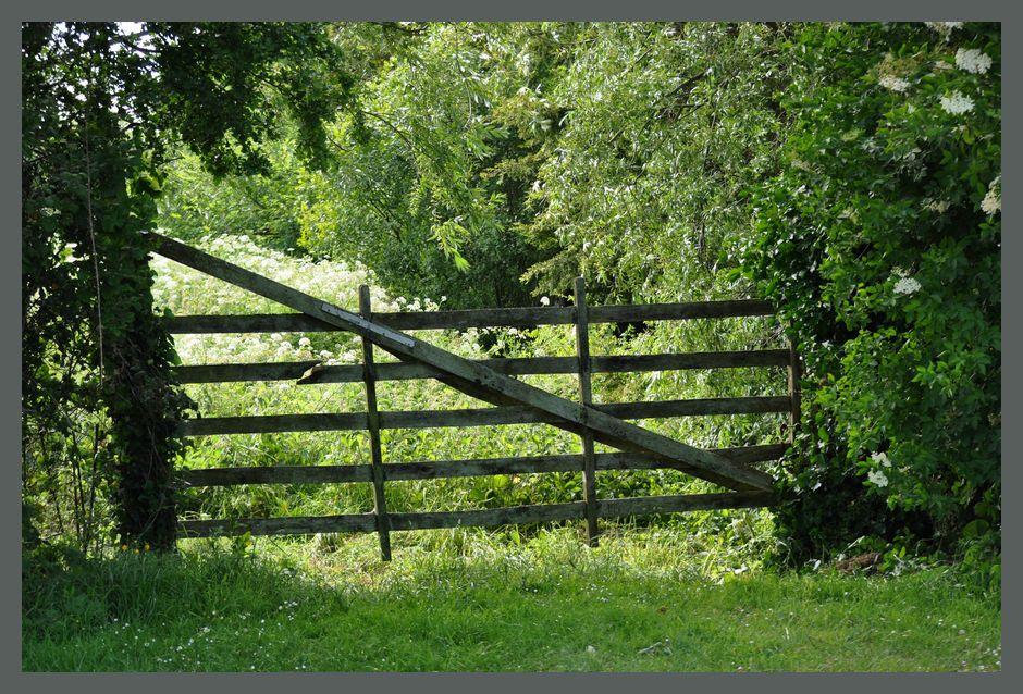 Les barrières traditionnelles en bois