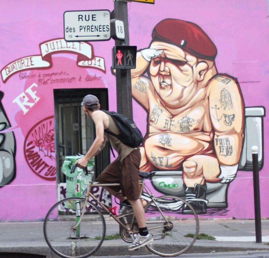 """Je vous invite à chercher """"Grafitti Lagny LaPlaine"""" et vous trouverez ce qui était l'un des plus grand spot de street art de France."""