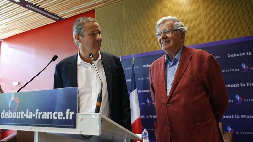 Jean-Pierre Chevènement avec Dupont-Aignan