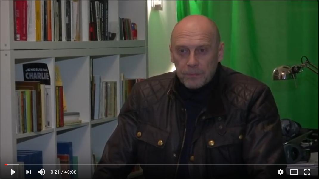 Daria Douguine interviewant Alain Soral pour son site néo-fasciste Geopolitica ru