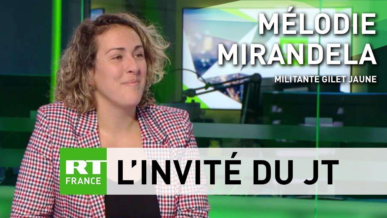GILETS JAUNNES / Mélodie Mirandela