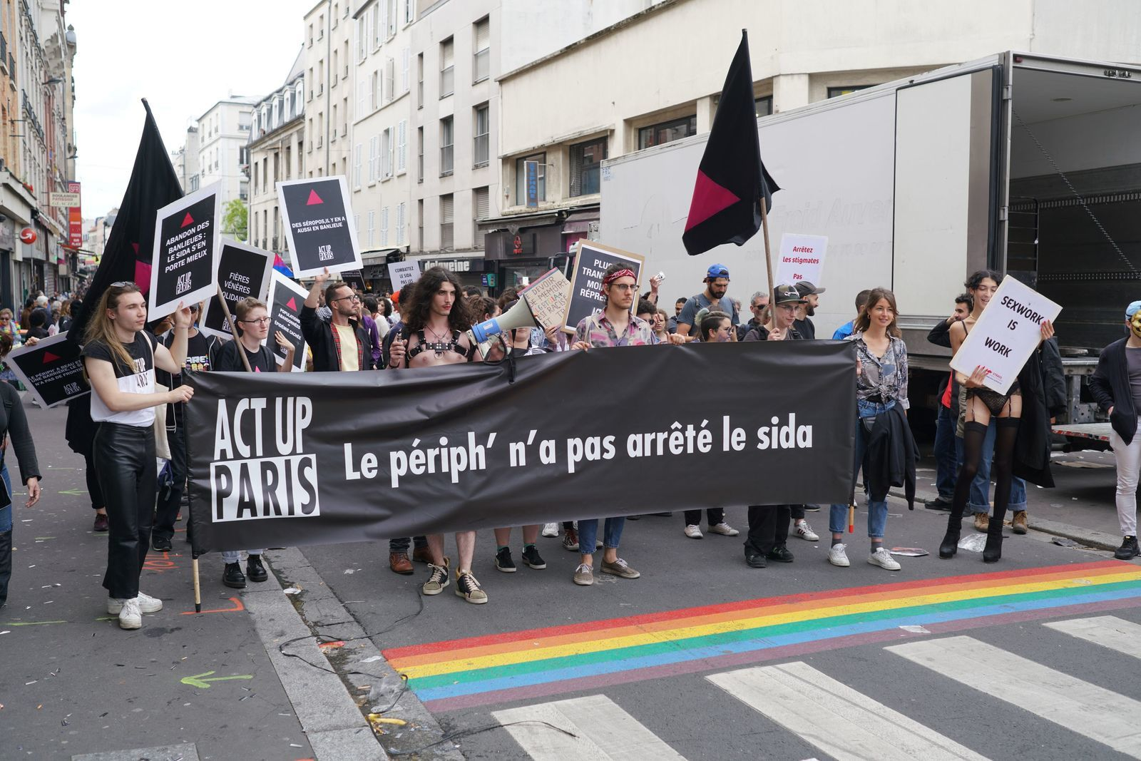 Photos de la marche des fiertés en banlieue 2019 © La-philosophie.fr
