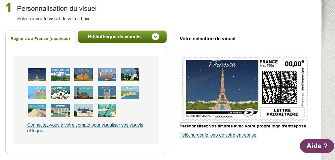 Nouvelles régions et personnalisation des timbres, La Poste facilitatrice du marketing territorial