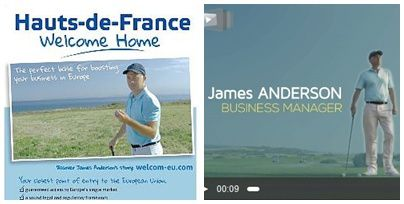 Do you know James Anderson, le personnage spécial Brexit des Hauts de France ?