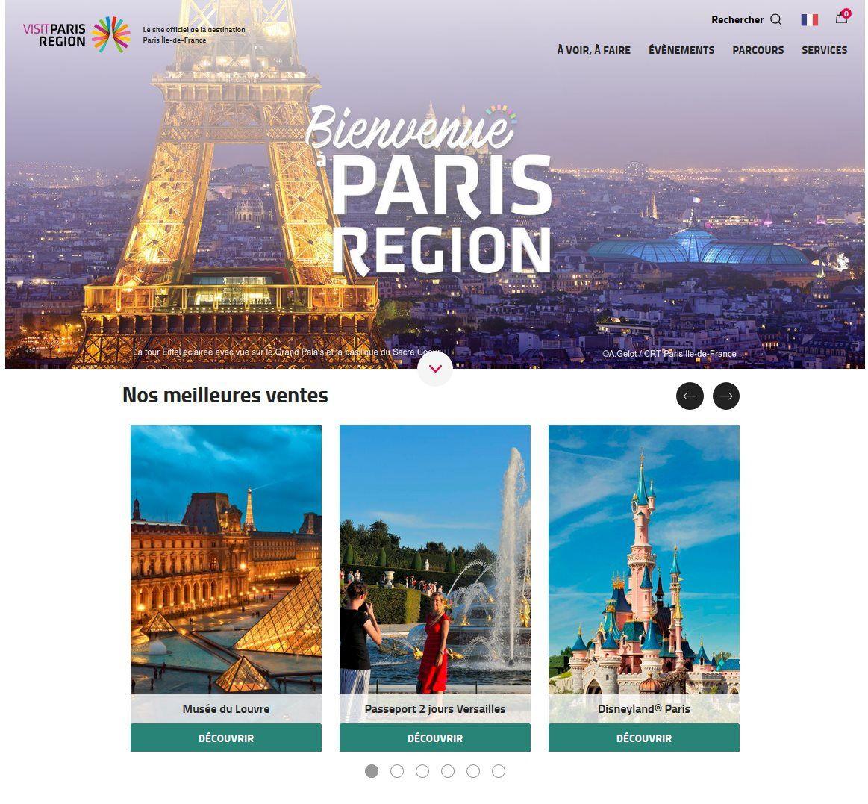 Un nouveau site Internet pour renforcer l'attractivité touristique de l'Ile-de-France
