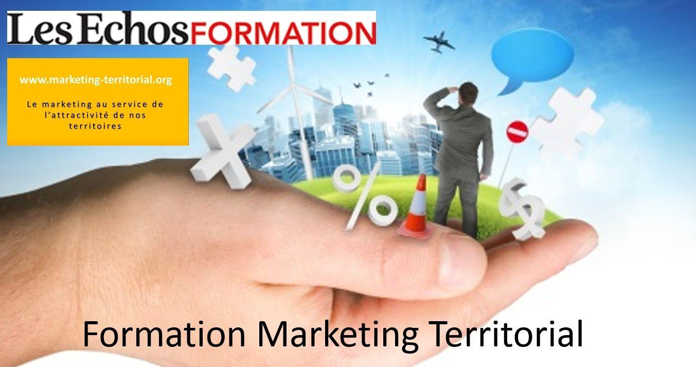 Prochaines formations au marketing territorial avec Les Echos : 11 et 12 décembre 2018 puis 2019