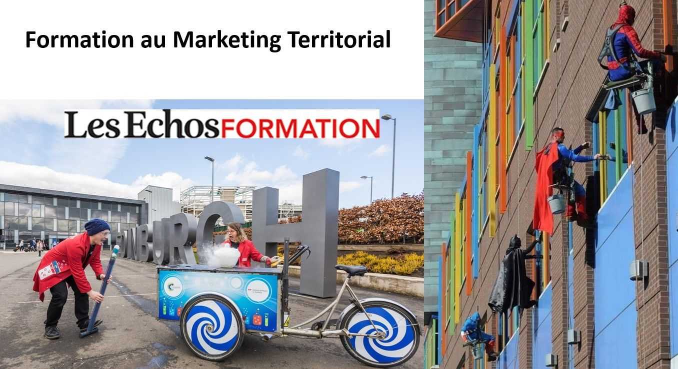 Renforcer son attractivité par le marketing territorial - formation Les Echos