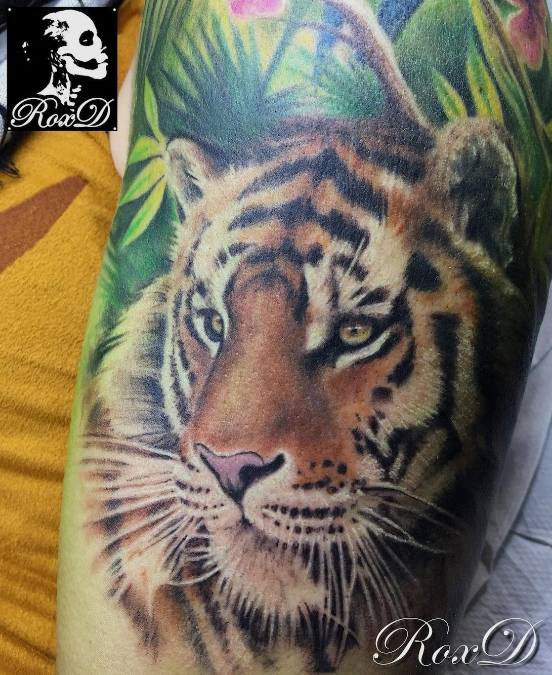 Tatouage Tigre Cristattoo83