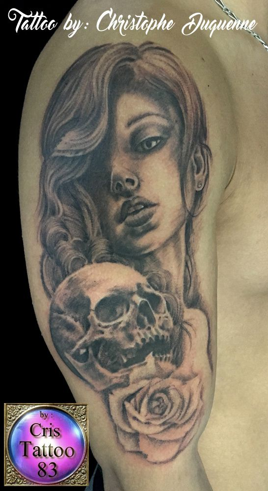woman tattoo
