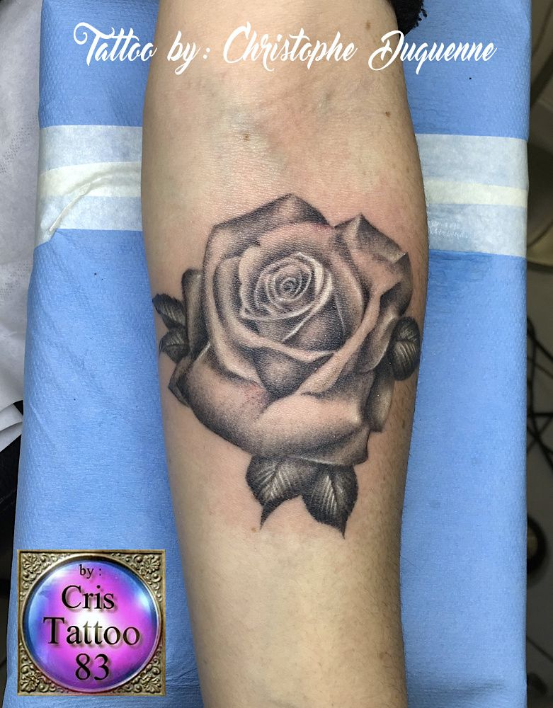 Tatouage Rose Cristattoo83