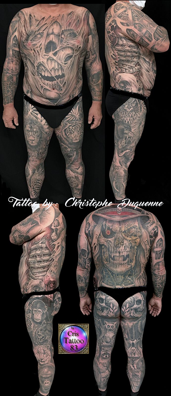 Tatouage corps complet