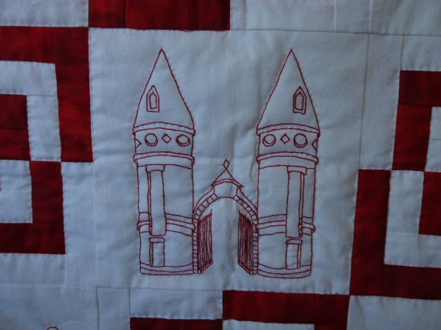 l'église, le palais de justice, la mairie, les tourelles, Roland Garros