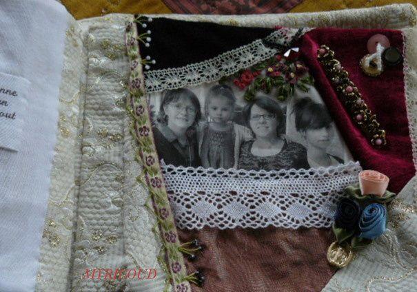 Livre textile crazy