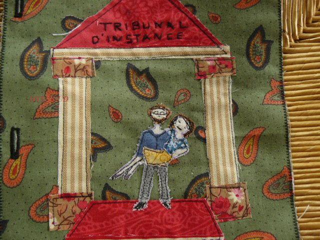 Juin : page journal textile