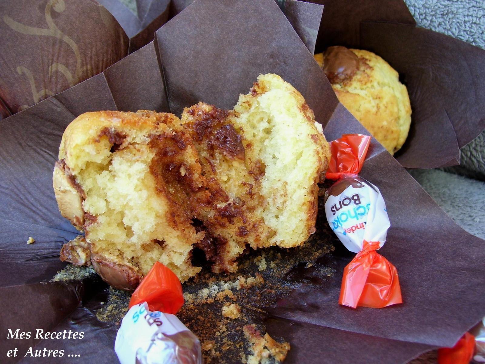 "Muffins aux "" Schoko-Bons"" Kinder"