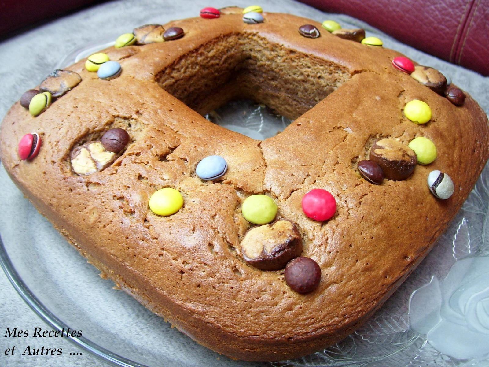 Cake au Chocolat au Lait (recyclage chocolat de Pâques)