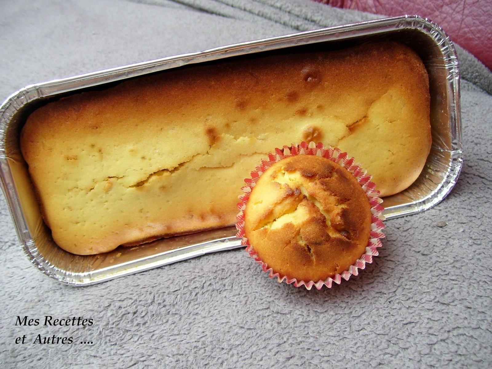 Cake au Citron comme une Madeleine...