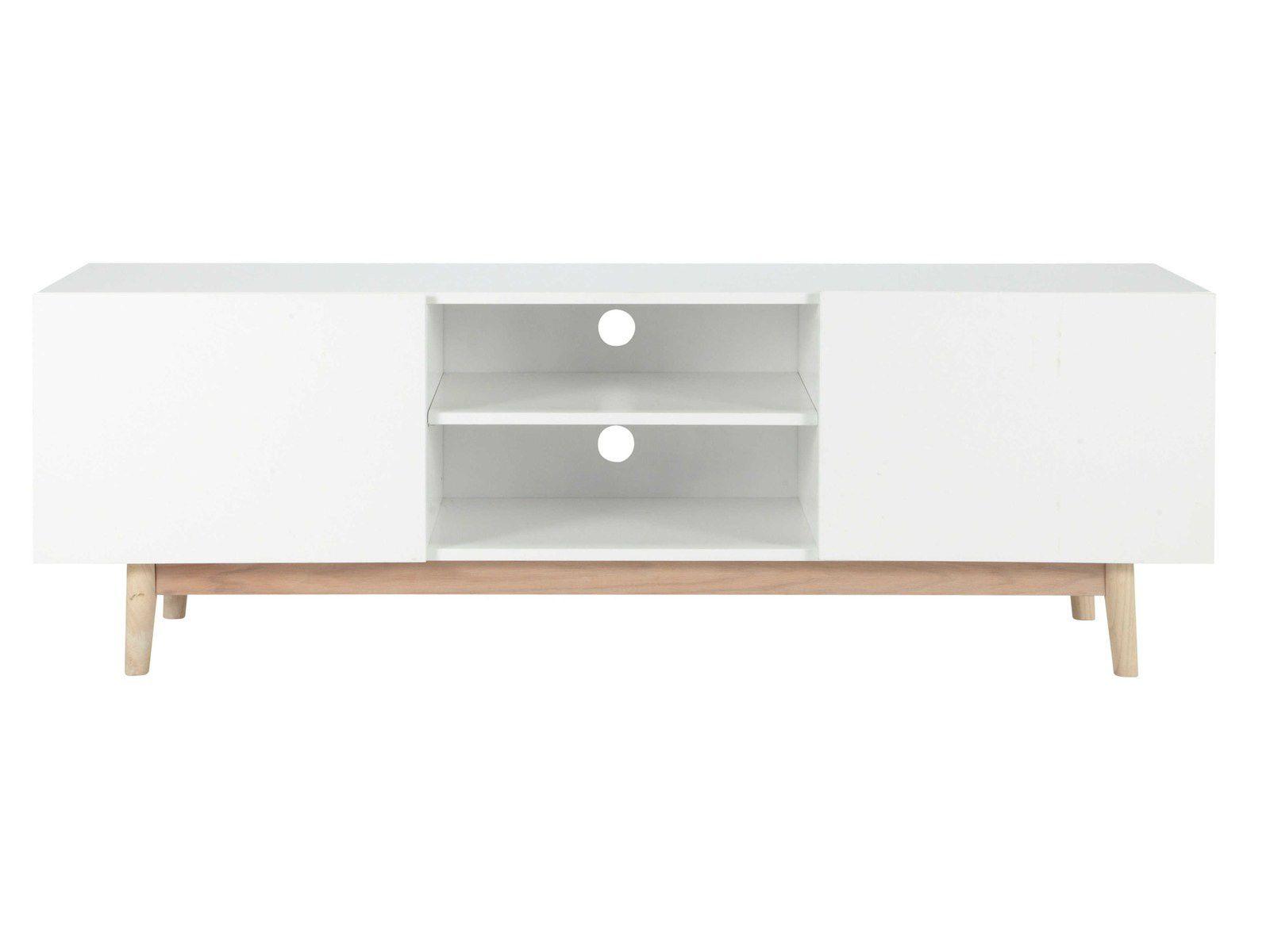 Meuble Ikea Besta Blanc customiser un meuble tv ikea avec pieds scandinaves en bois