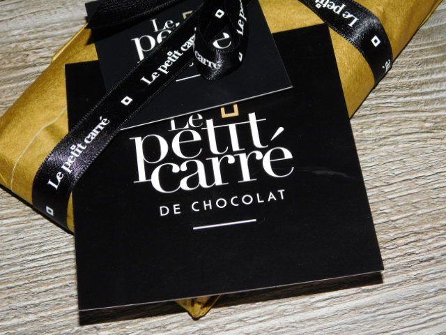 Le petit carré de chocolat.