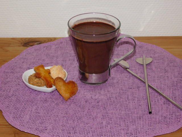 Chocolat chaud à l'italienne.