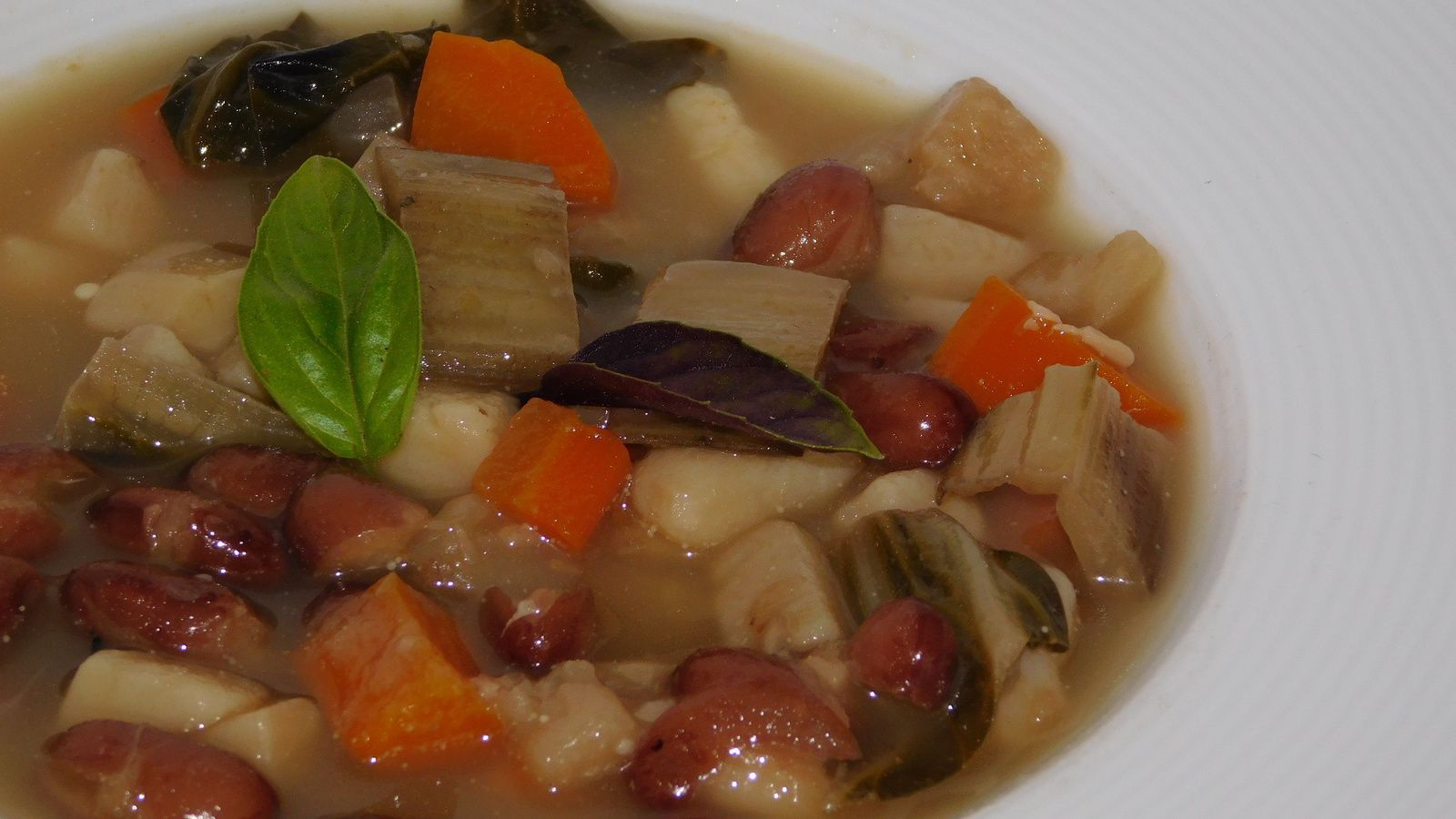Minestrone d'automne.