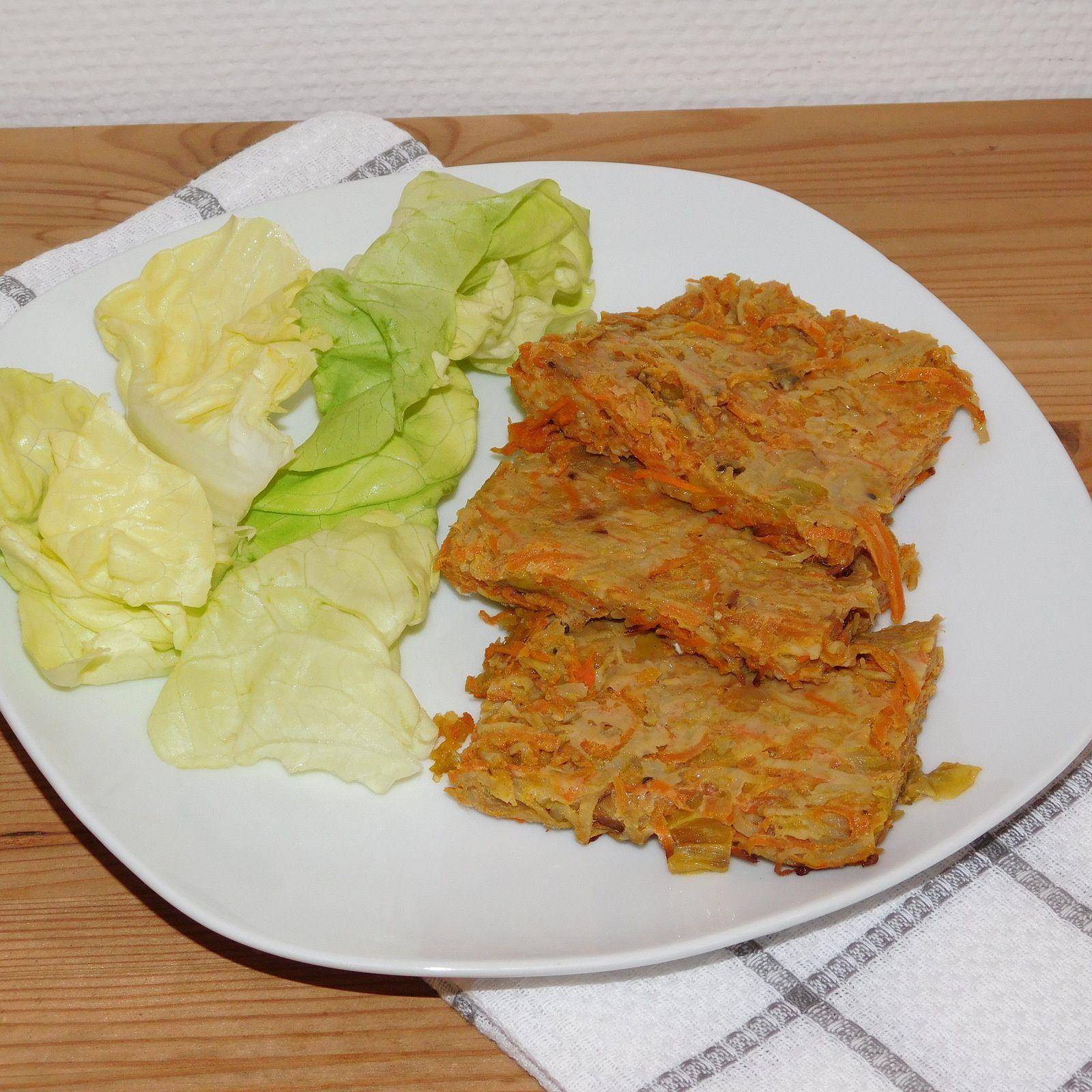 Râpé de carottes-pommes de terre-poireaux.