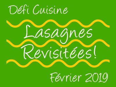Défi Cuisine de Février.