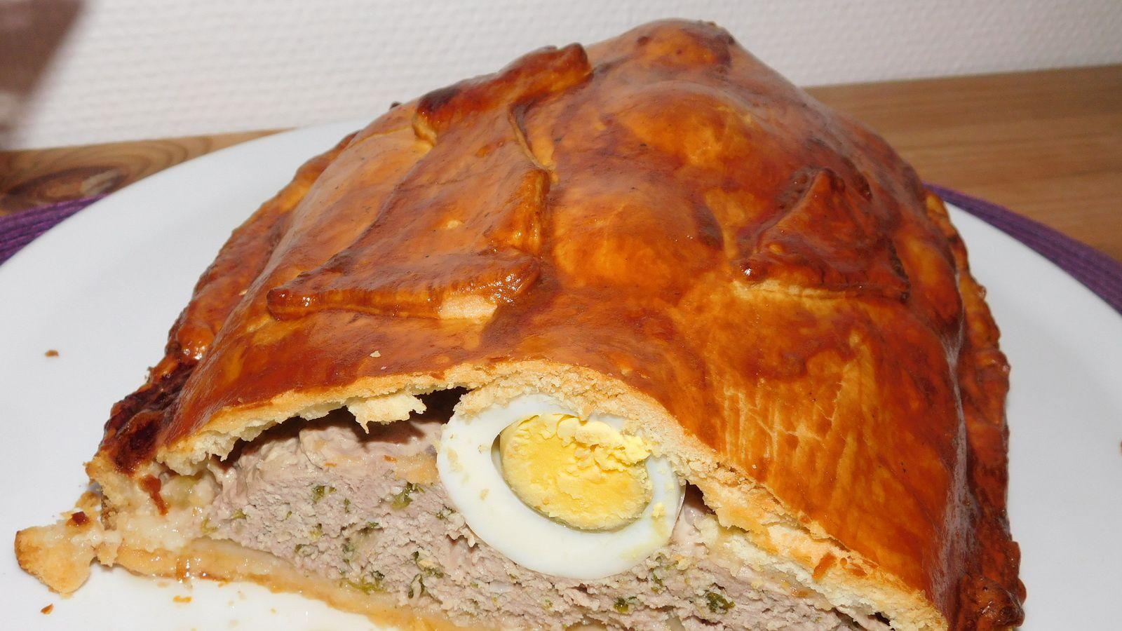 Pâté berrichon ou pâté de Pâques.