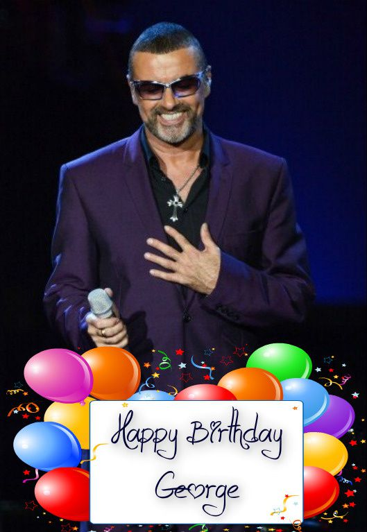 George Michael Happy Birthday For You !!