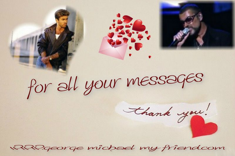 Thank You To All For George Michael !!