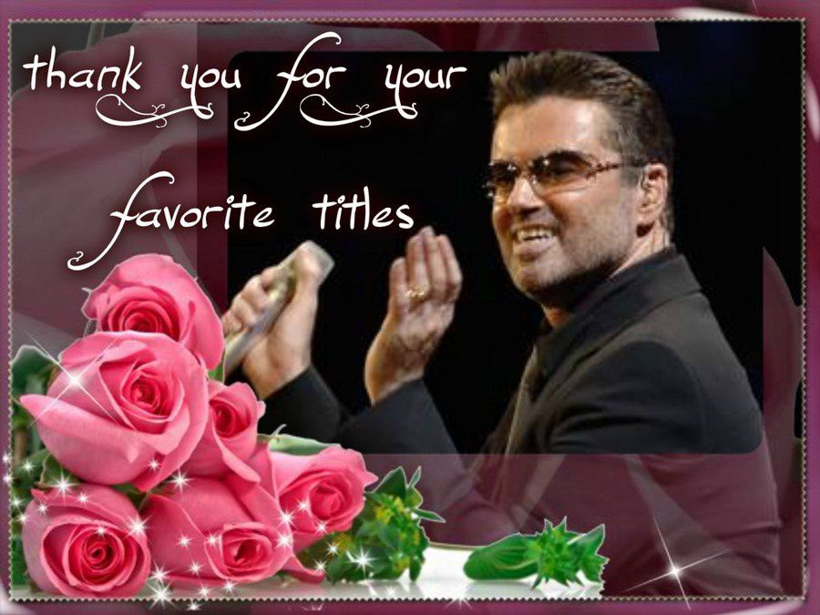 Thank you for your favorite titles !!