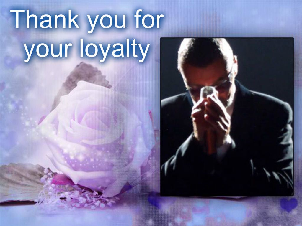 Thank you for your loyalty !!