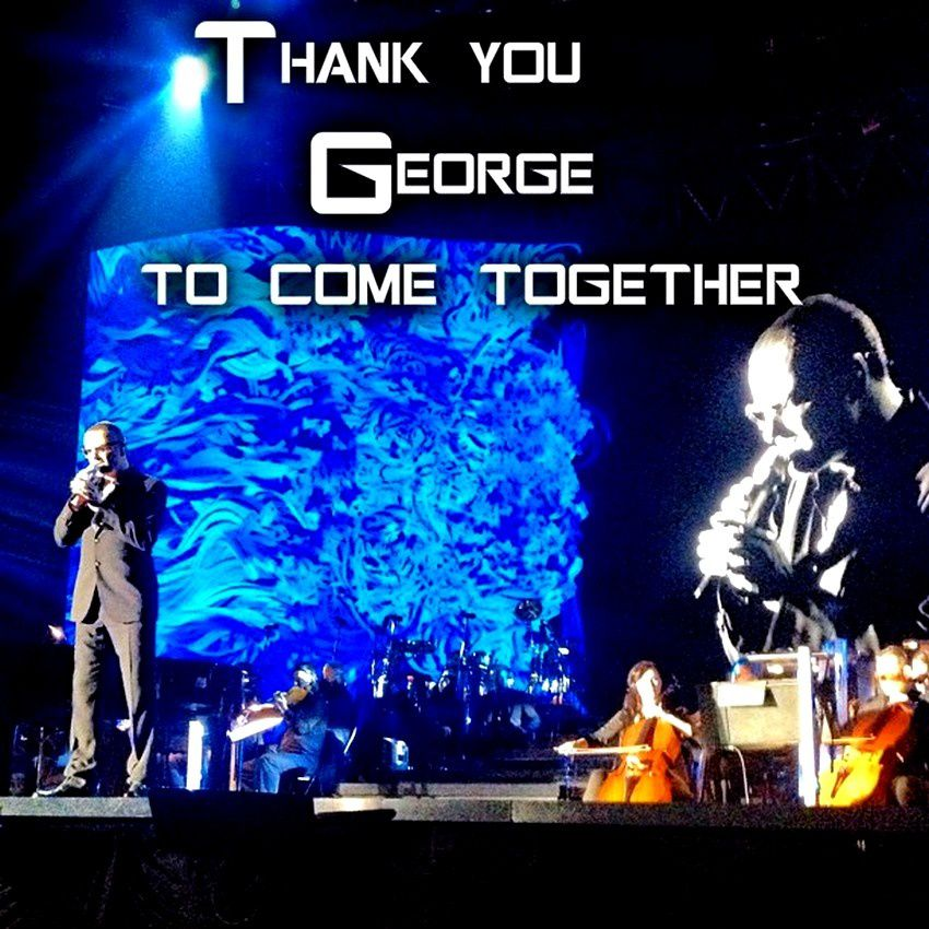 Thank you George to come together !!