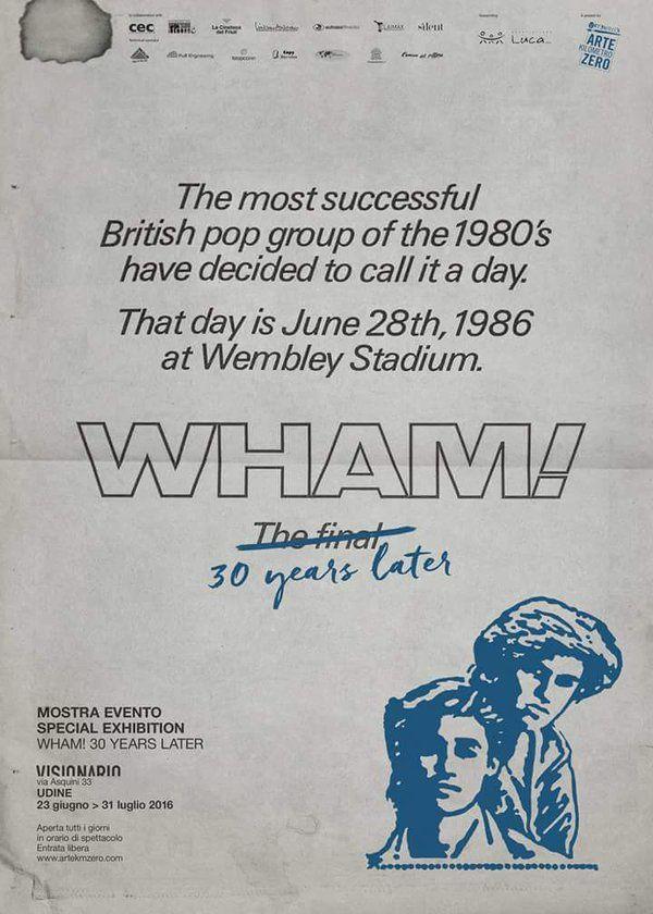 Wham ! 30 ans plus tard !!