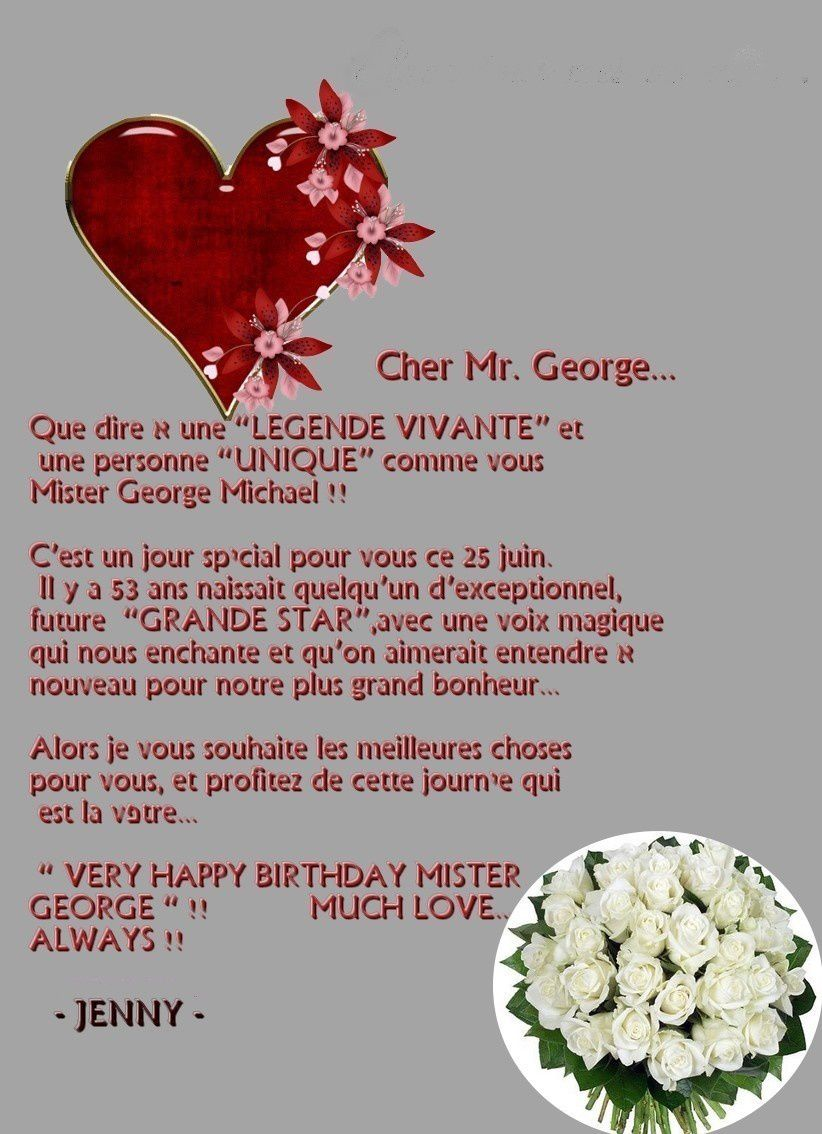 George Michael Happy Birthday !! (Third Part)