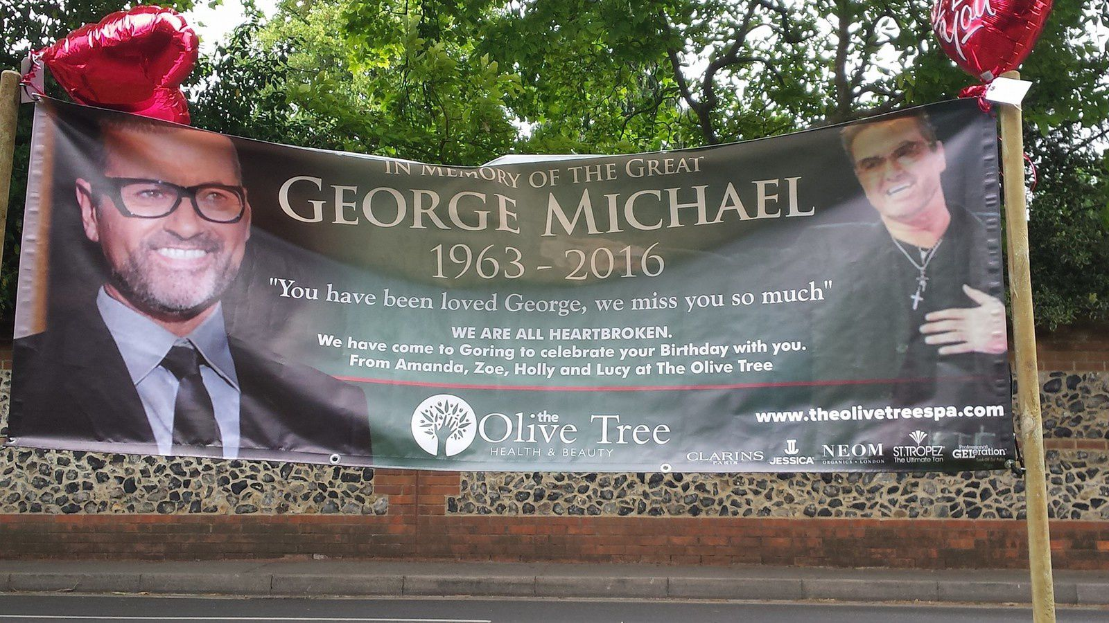 Fan shares for George's birthday !!