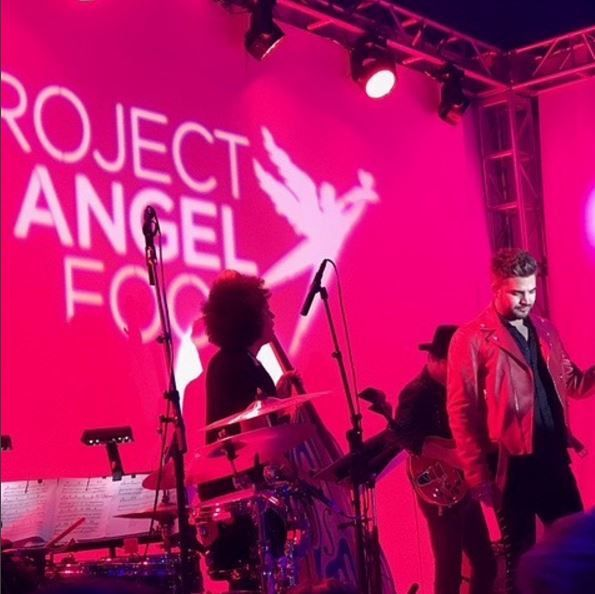 George Michael honoré au Project Angel Food !!