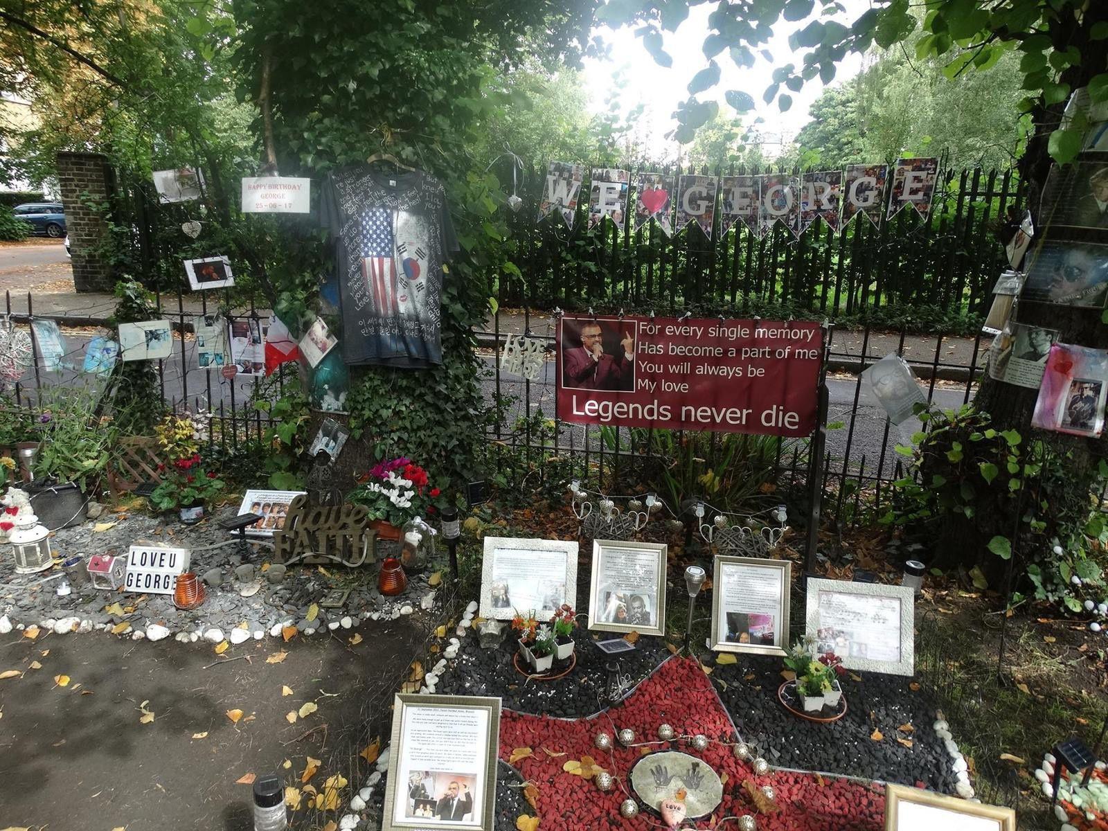 Hommage de Claudia à George Michael !!