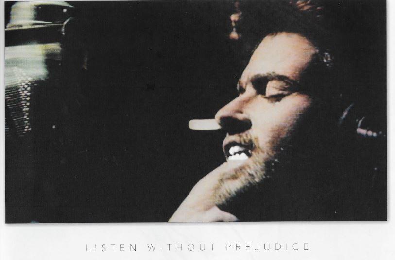 GEORGE MICHAEL - LISTEN WITHOUT PREJUDICE  ( Le livret )
