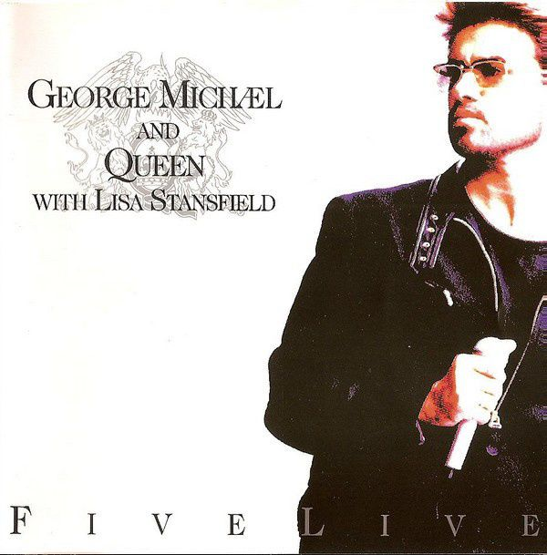 GEORGE MICHAEL - LE MINI-ALBUM FIVE LIVE !!