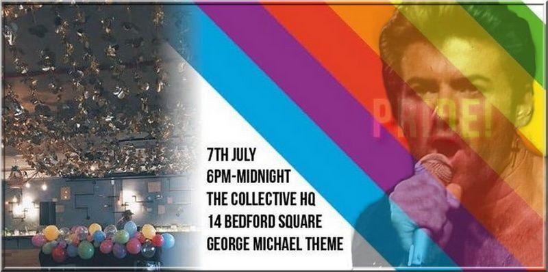 GEORGE MICHAEL - PRIDE IN LONDON 2018 - PRIDE MATTERS !!
