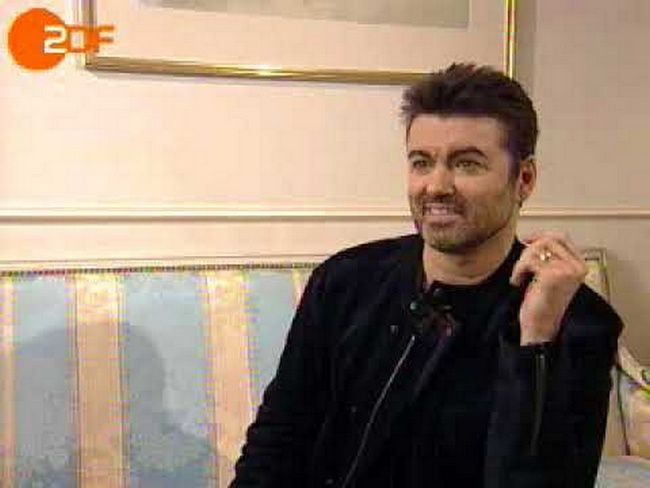 GEORGE MICHAEL - UNE INTERVIEW DE MARS 2004 - ZDF TV ALLEMANDE !!
