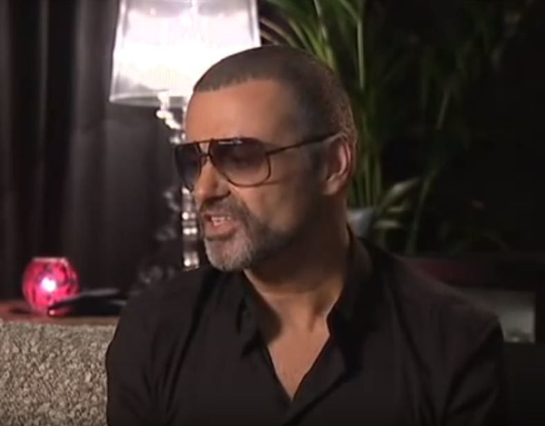 GEORGE MICHAEL - UNE INTERVIEW DE 2011 AU DANEMARK DE GEORGE MICHAEL POUR LA TELEVISION !!