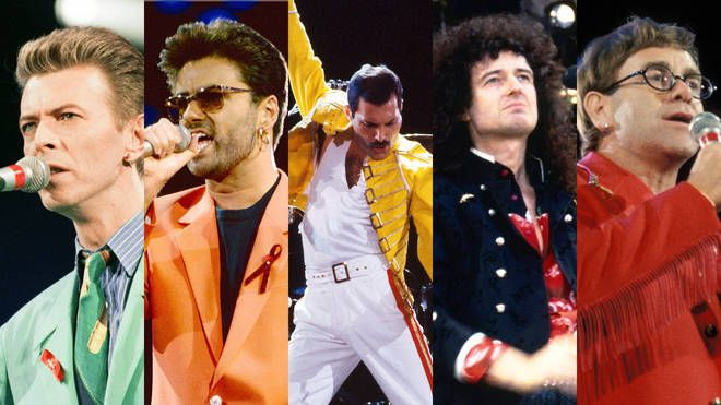 GEORGE MICHAEL - THE FREDDIE MERCURY SUR YOUTUBE DEMAIN  !!