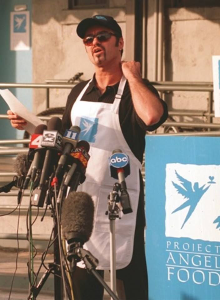 GEORGE MICHAEL - PROJECT ANGEL FOOD - UNE ETOILE POUR HONORER GEORGE MICHAEL !!